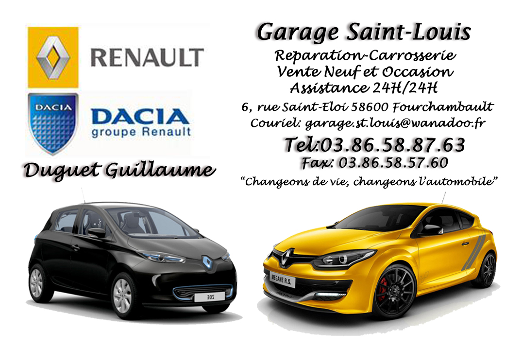 GARAGE RENAULT SAINT LOUIS