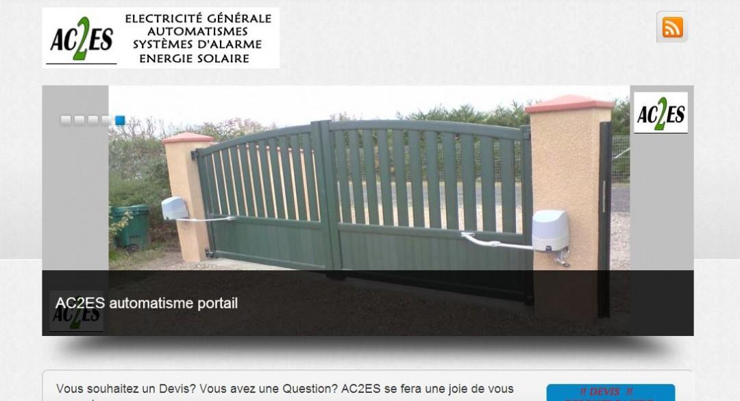 Site Vitrine Entreprise Electricité