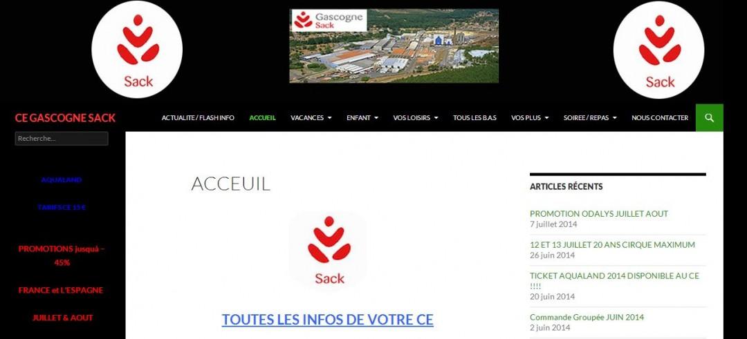 Site Comité d'entreprise