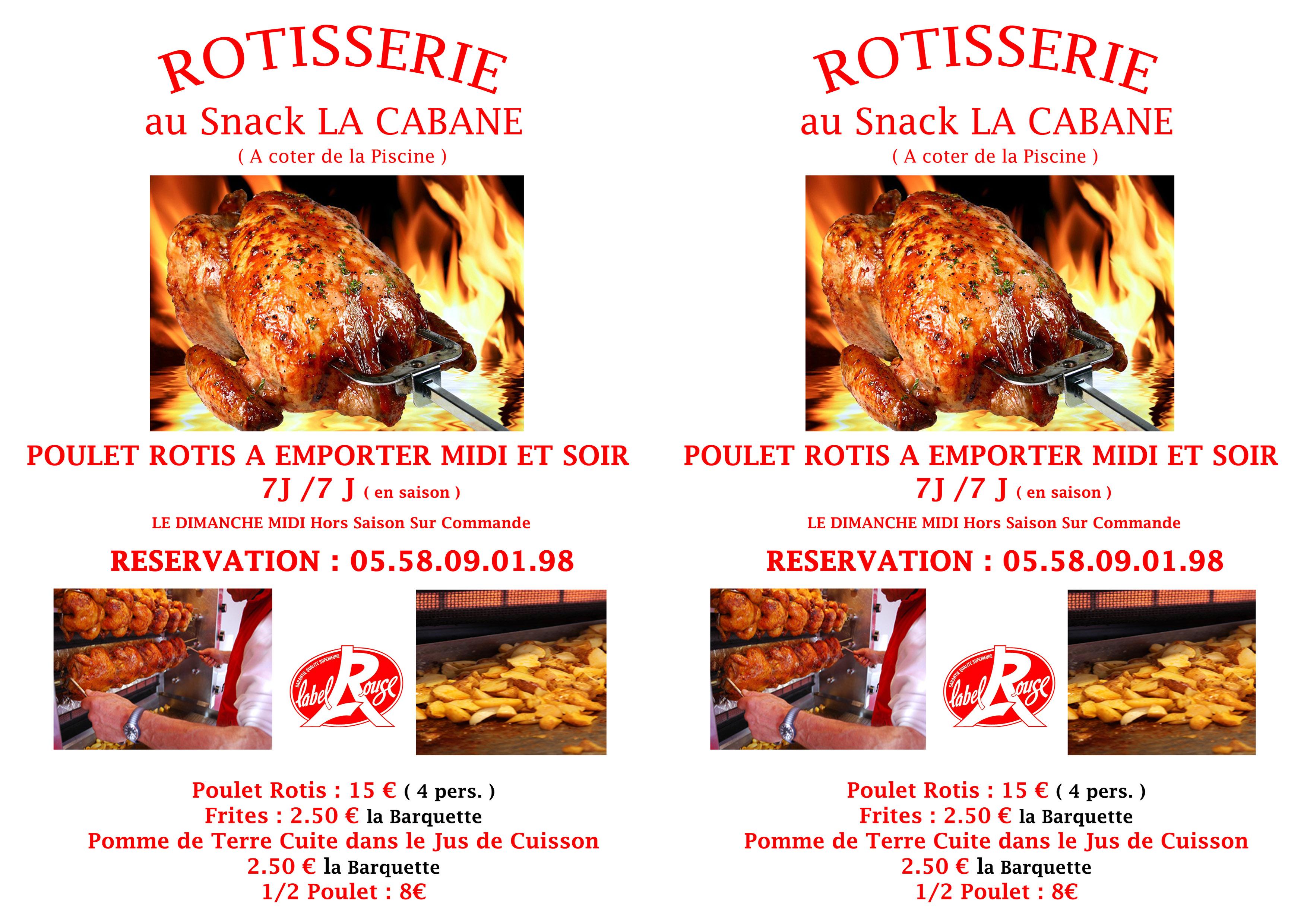Flyer Rôtisserie